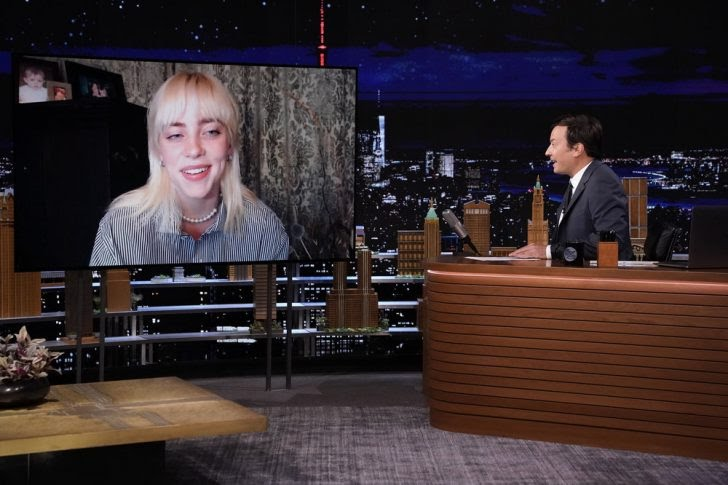 Billie Eilish – Happier Than Ever (live From The Tonight Show Starring Jimmy Fallon/2021)