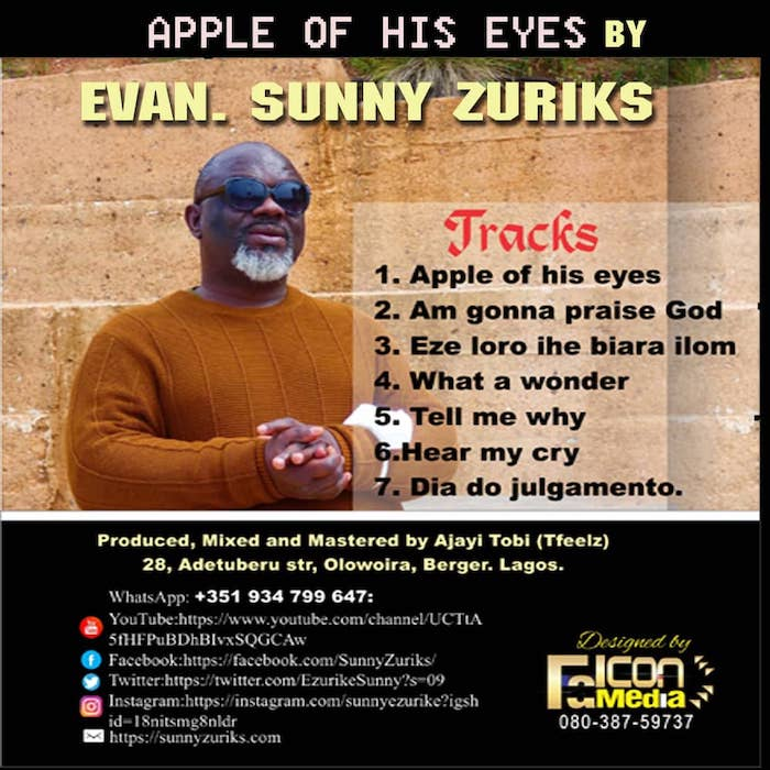 Evang Sunny Zuriks – Apple Of His Eyes
